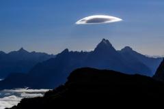 Funny Cloud over Watzmann | UU-Fotografie – Ulrike Unterbruner