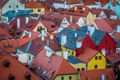 The Roofs of Cesky Krumlov | UU-Fotografie – Ulrike Unterbruner