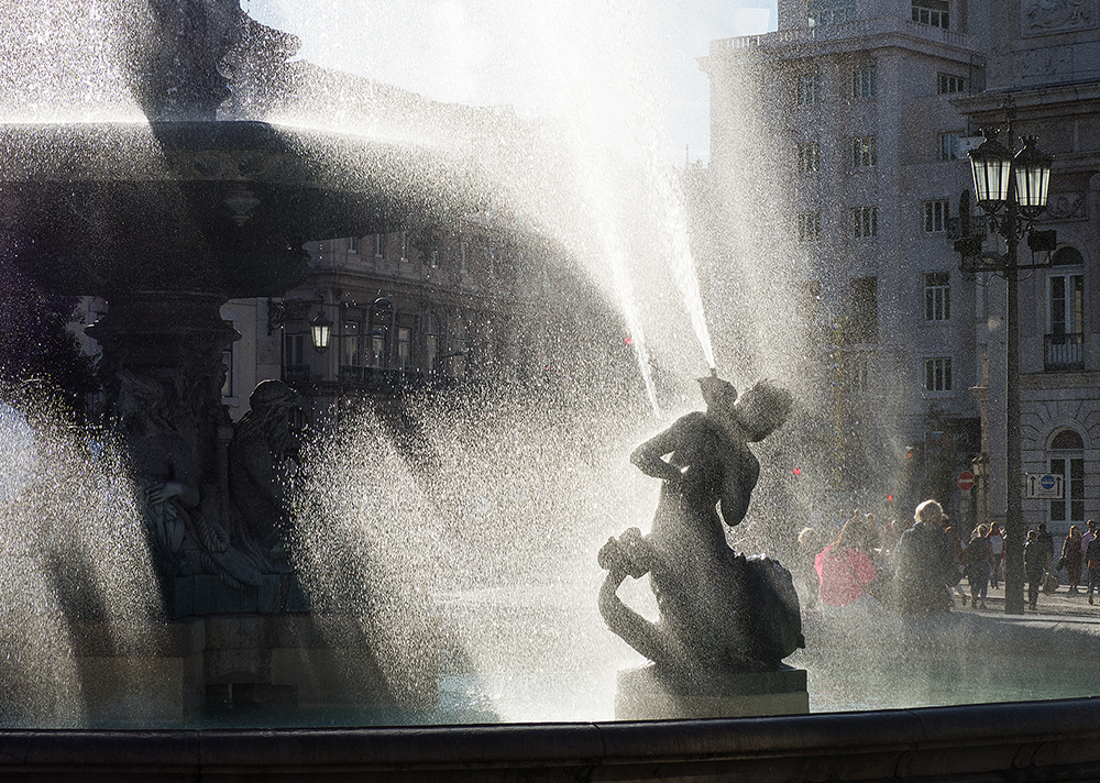 Fountain in Lisboa | UU-Fotografie – Ulrike Unterbruner