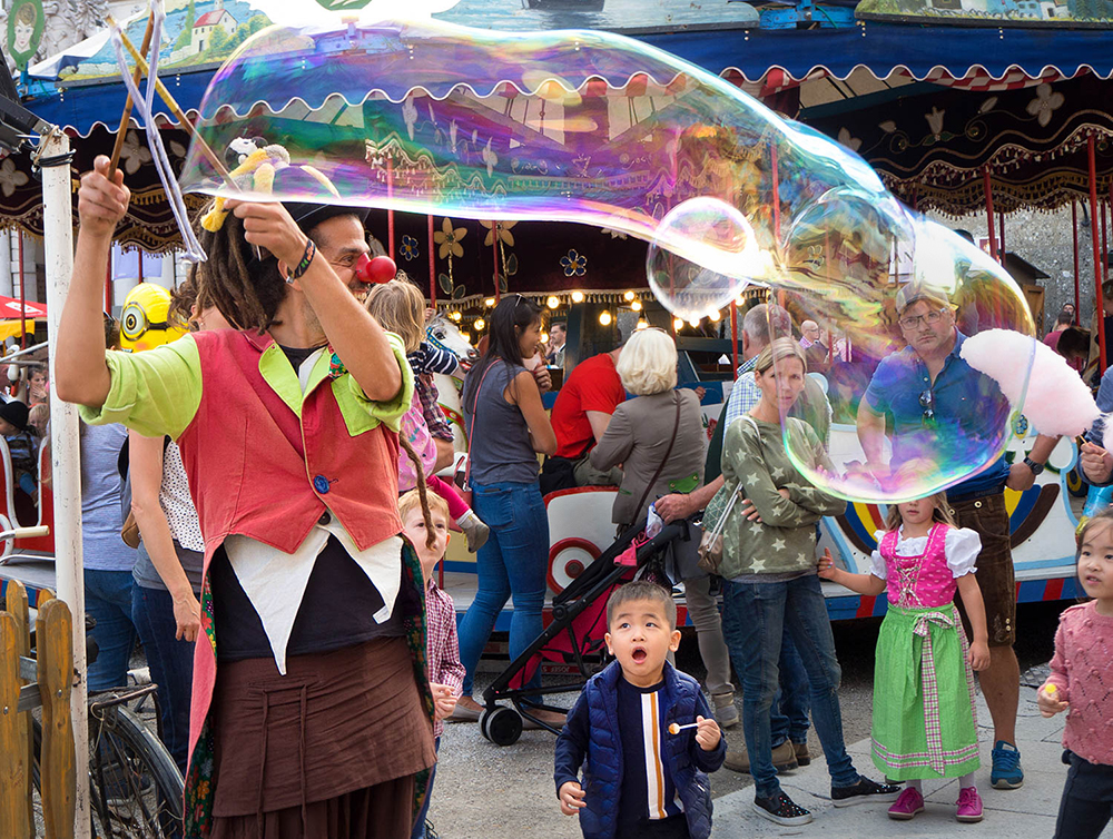 Bubble Clown | UU-Fotografie – Ulrike Unterbruner